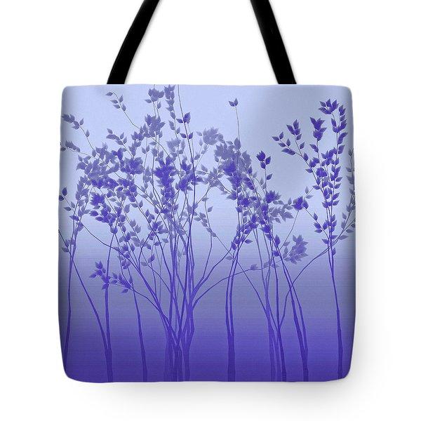Silver Twilight Tote Bag