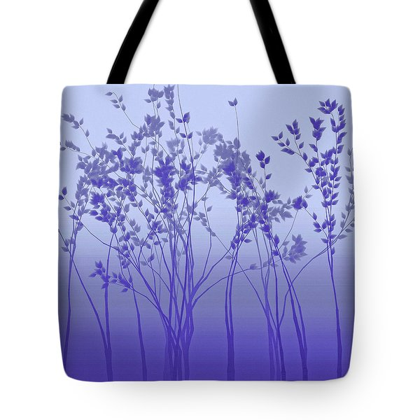 Silver Twilight Tote Bag