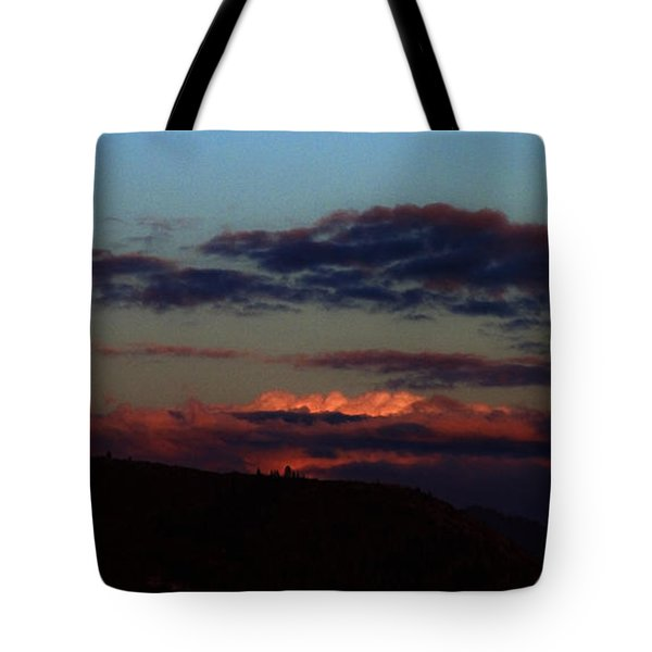 Silver Valley Moon Tote Bag
