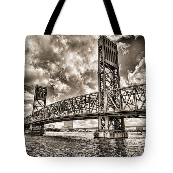 Silver Wing Tote Bag