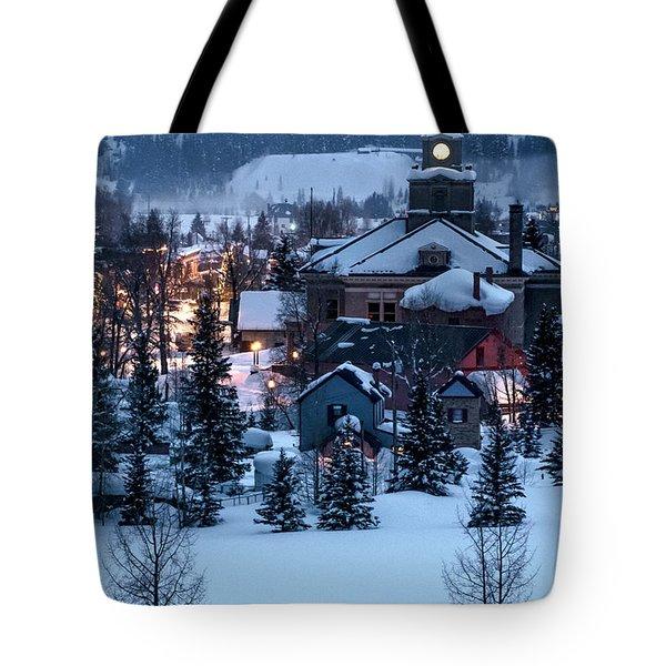 Silverton At Night Tote Bag