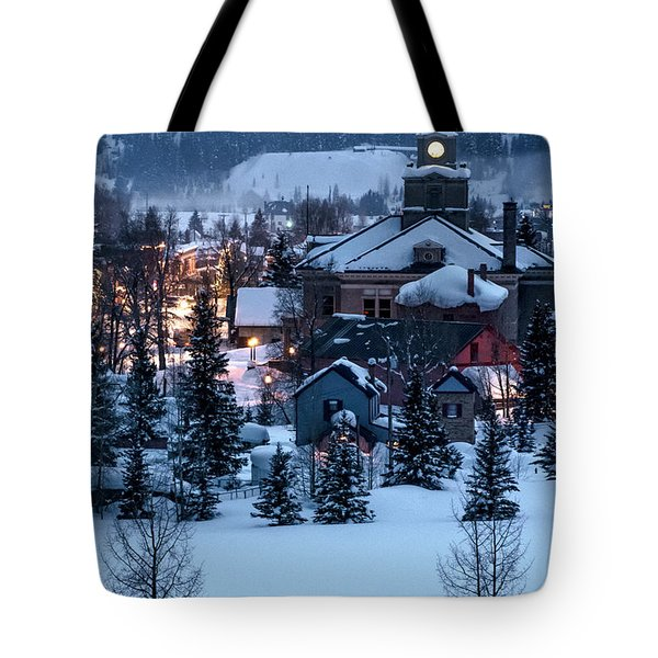 Silverton At Night Tote Bag
