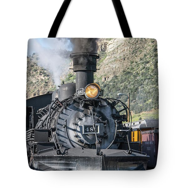 Tote Bag featuring the photograph Silverton Bound by Colleen Coccia
