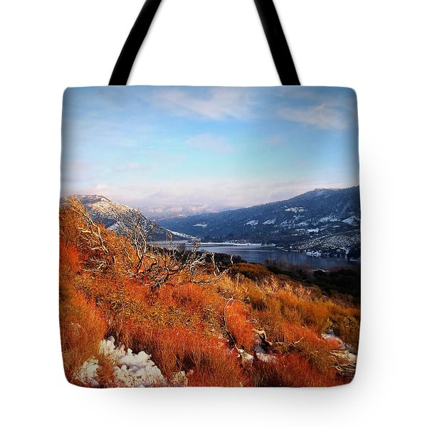 Tote Bag featuring the photograph Silverwood Lake - California by Glenn McCarthy Art and Photography