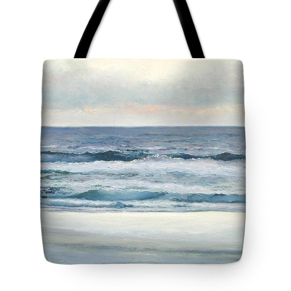 Silvery Morn Tote Bag