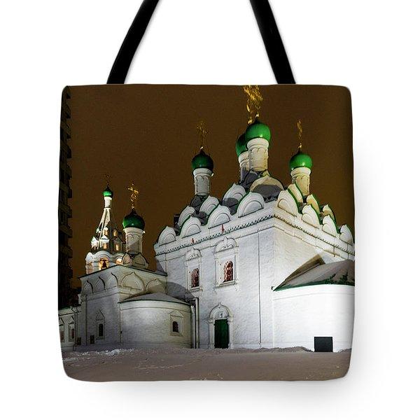 Simeon Stylites Church Tote Bag