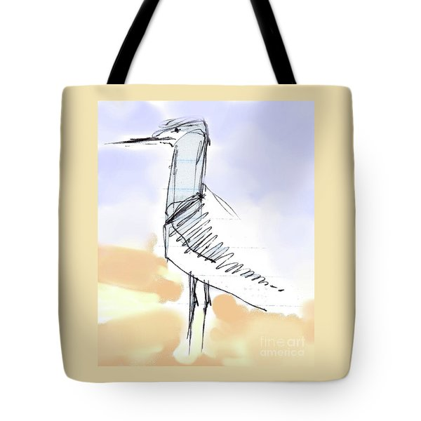 Simon Tote Bag by Carolyn Weltman