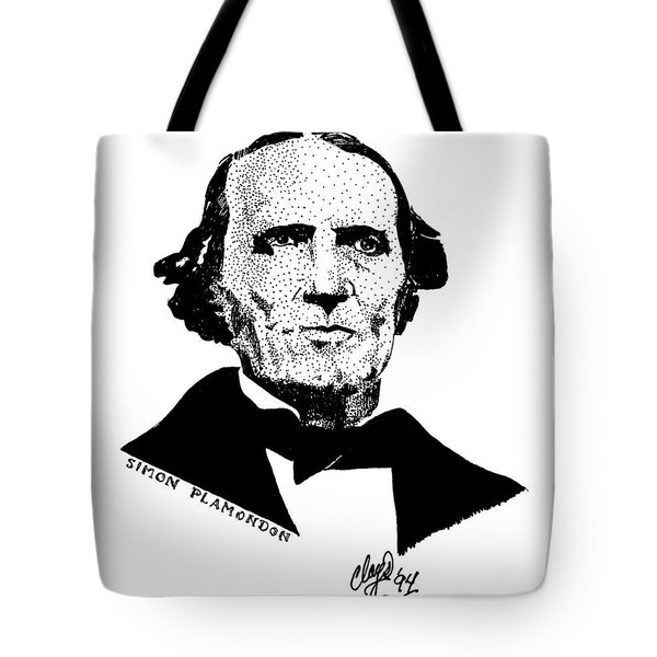 Simon Plamondon Tote Bag