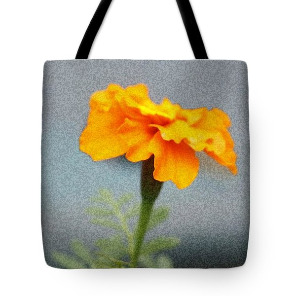 Tote Bag featuring the photograph Simple Bright Flower by Ellen O'Reilly