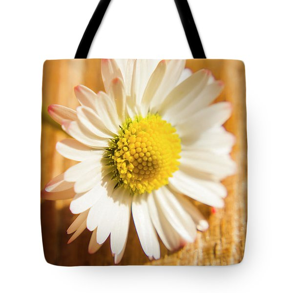 Simple Camomile  In Sunlight Tote Bag