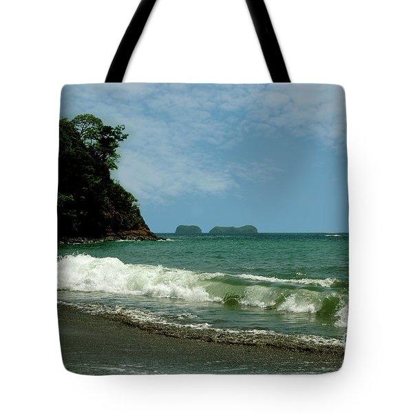 Simple Costa Rica Beach Tote Bag