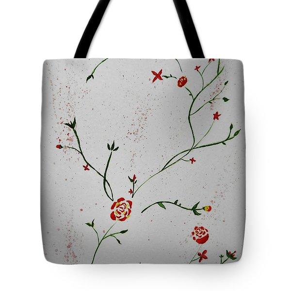 Simple Flowers #1 Tote Bag
