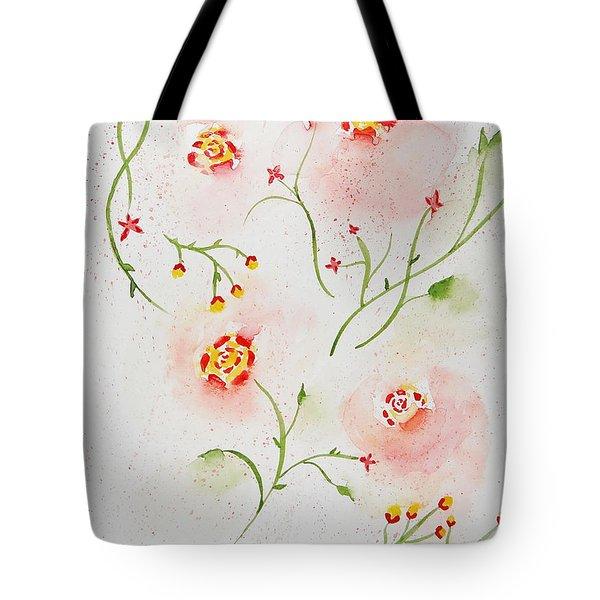 Simple Flowers #2 Tote Bag