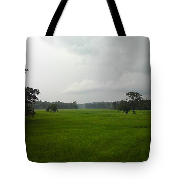 Tote Bag featuring the photograph Simple Green by Rushan Ruzaick