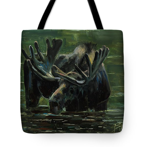 Tote Bag featuring the painting Simple Pleasures by Billie Colson