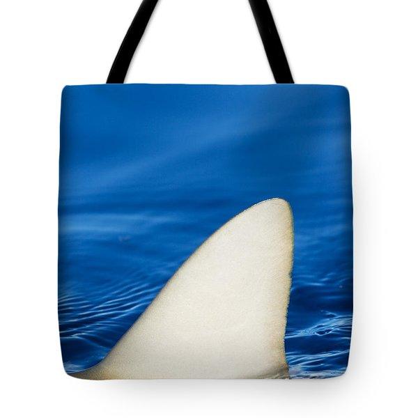 Simple Shark Fin Tote Bag