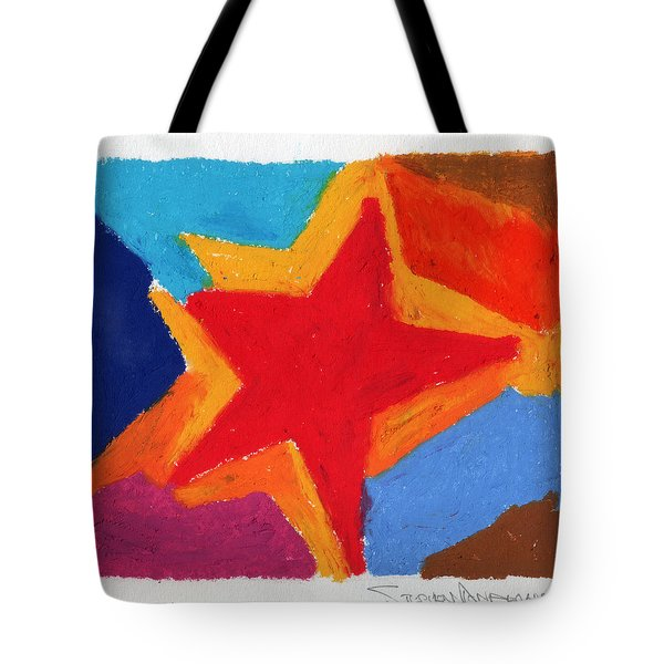 Simple Star Tote Bag by Stephen Anderson