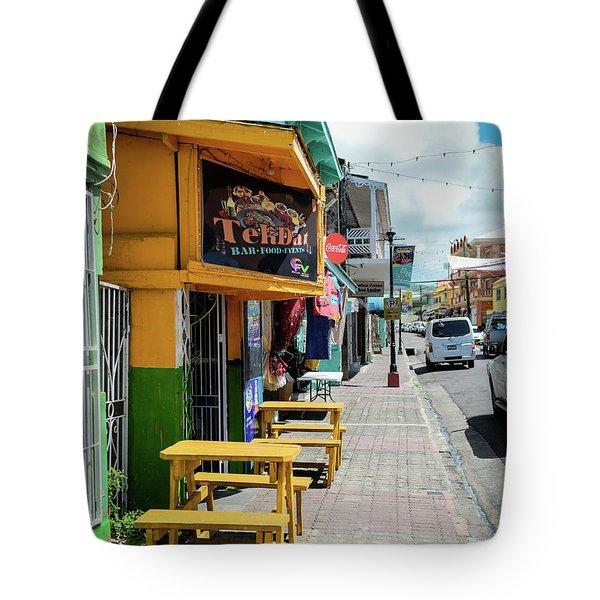 Simple Street View Tote Bag