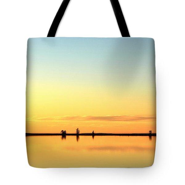 Simple Sunrise Tote Bag