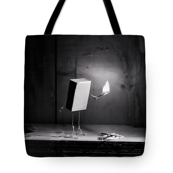Simple Things - Light In The Dark Tote Bag