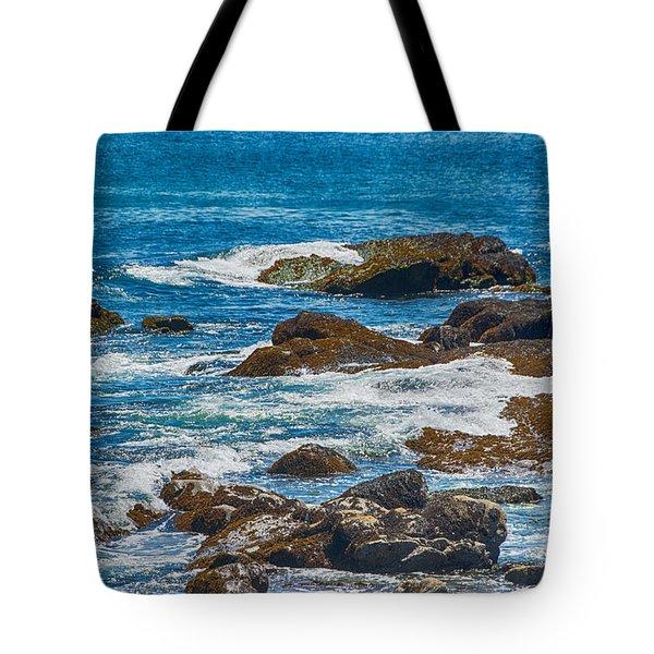 Simple Waves Tote Bag