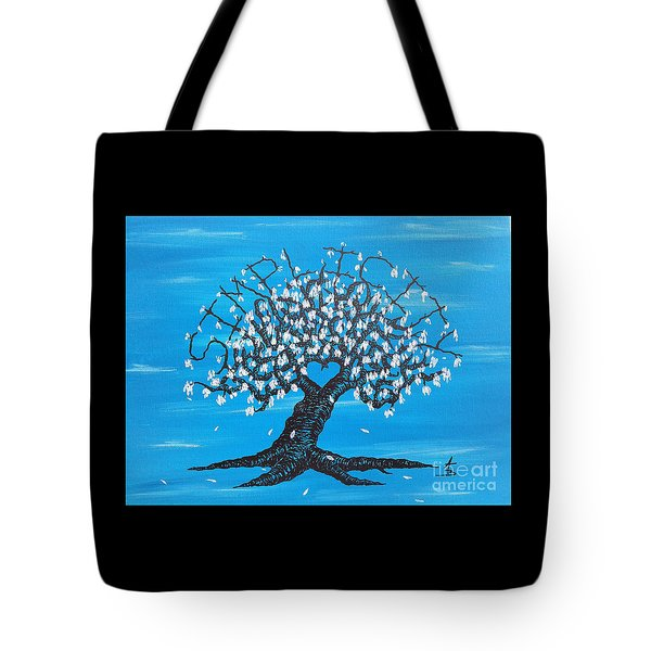 Simplicity Love Tree Tote Bag