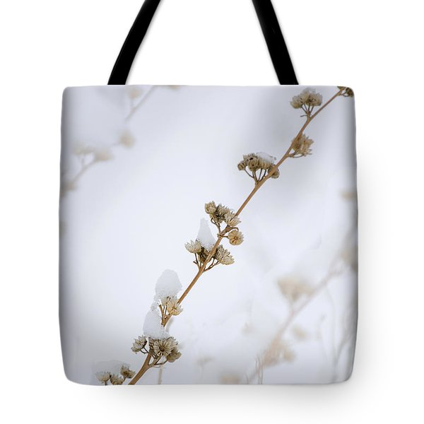 Simplicity Of Winter Tote Bag