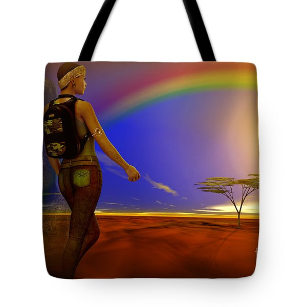 Tote Bag featuring the digital art Simplicity by Shadowlea Is