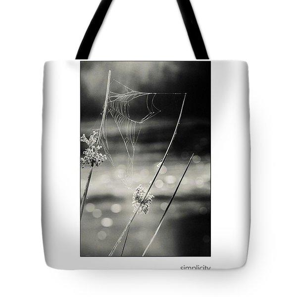 *simplicity Von Mandy Tabatt Auf Tote Bag