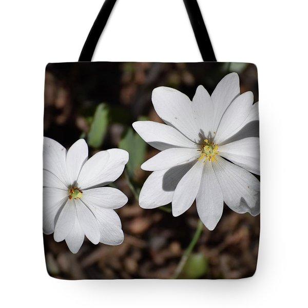 Tote Bag featuring the photograph Simplistic Duo by Deborah  Crew-Johnson