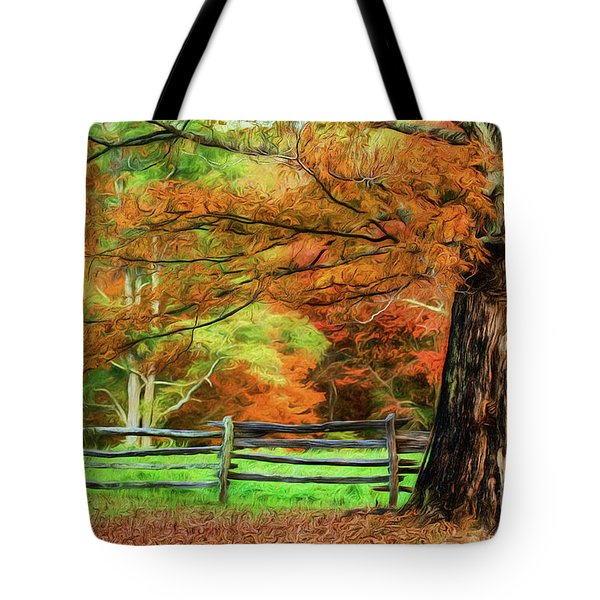 Simply Autumn Tote Bag