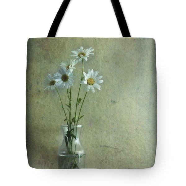 Simply Daisies Tote Bag by Priska Wettstein