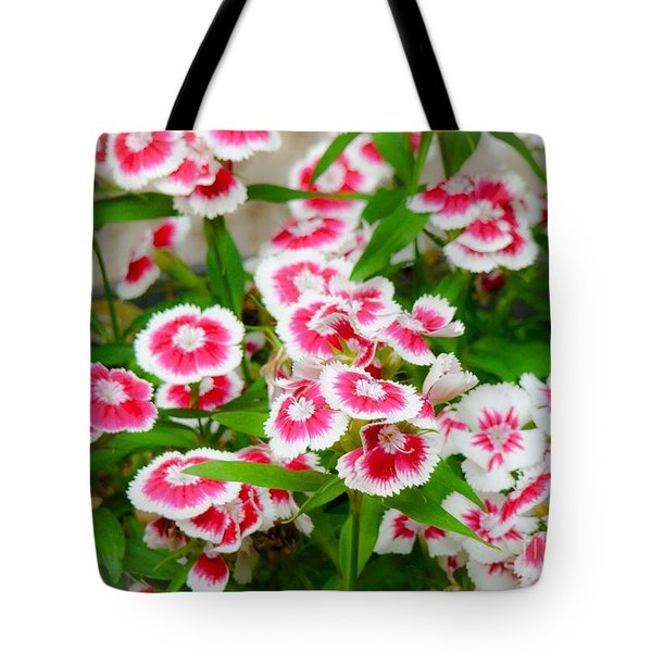 Simply Flowers Tote Bag by Rand Herron