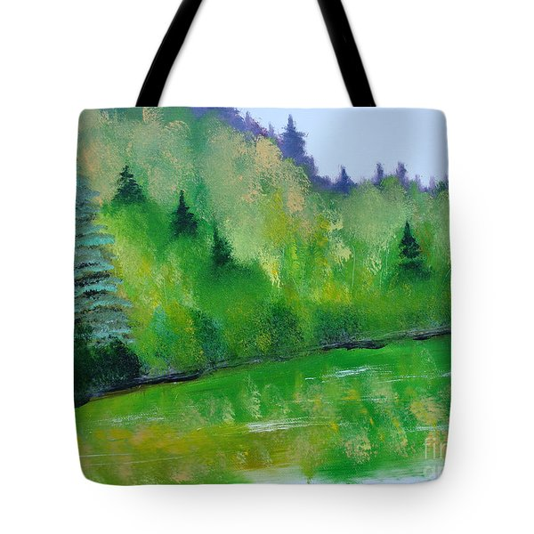 Simply Green Tote Bag by Rod Jellison