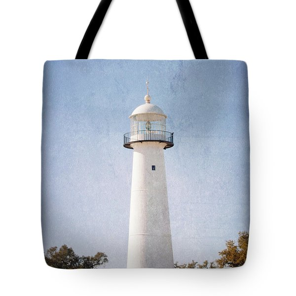 Simply Lighthouse Tote Bag