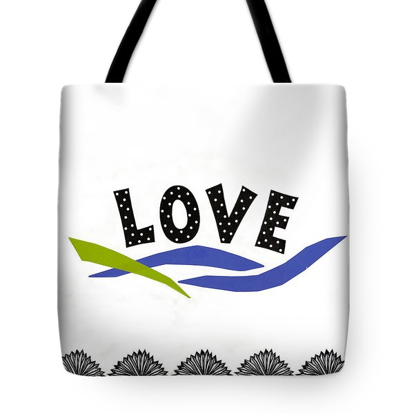 Tote Bag featuring the mixed media Simply Love by Gloria Rothrock