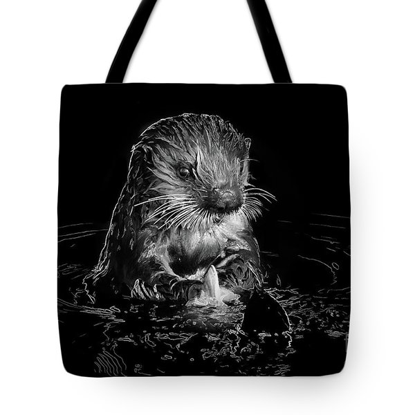 Simply Otter Tote Bag