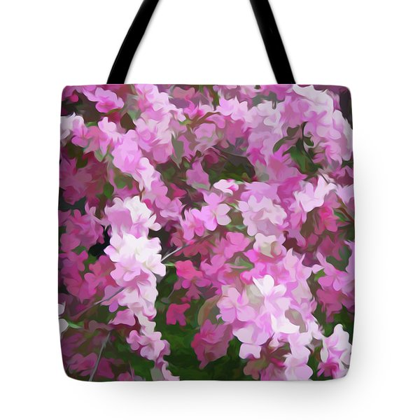 Tote Bag featuring the photograph Simply Soft Beautiful Blossoms by Aimee L Maher Photography and Art Visit ALMGallerydotcom