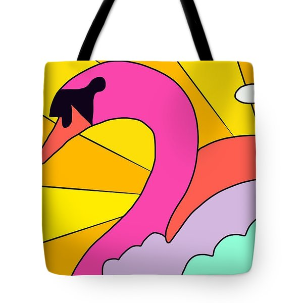 Simply Swan-sational Tote Bag