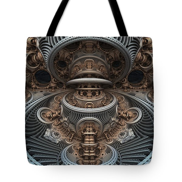 Simply Symmetrical Tote Bag