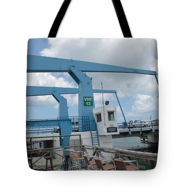 Simpson Bay Bridge St Maarten Tote Bag