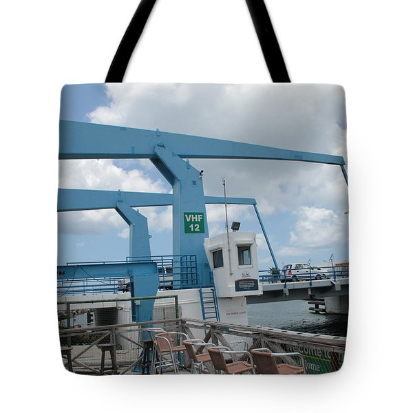 Simpson Bay Bridge St Maarten Tote Bag