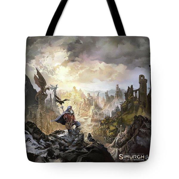 Simurgh Call Of The Dragonlord Tote Bag