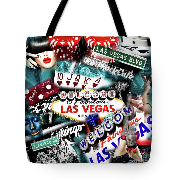 Sin City Tote Bag by John Rizzuto