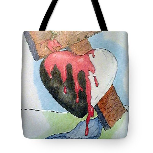 Sin Washer Tote Bag
