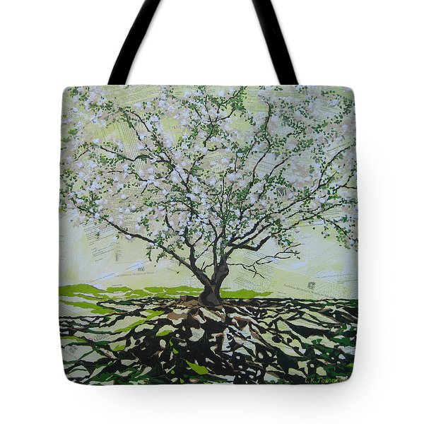 Sincerely-the Curator Tote Bag by Leah  Tomaino