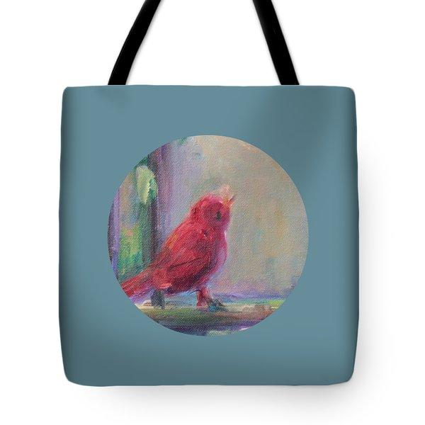 Sing Little Bird Tote Bag
