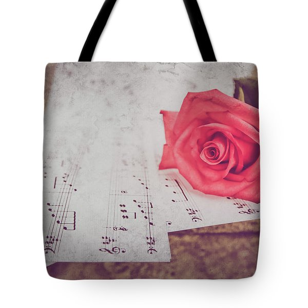 Sing Me A Love Song Tote Bag