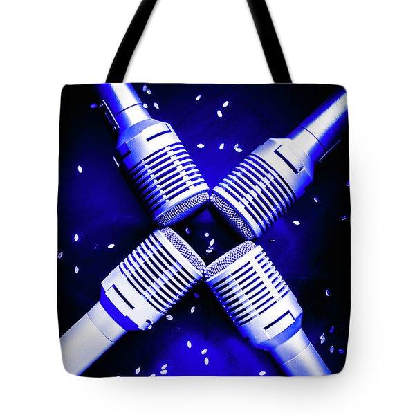 Sing Star Tote Bag