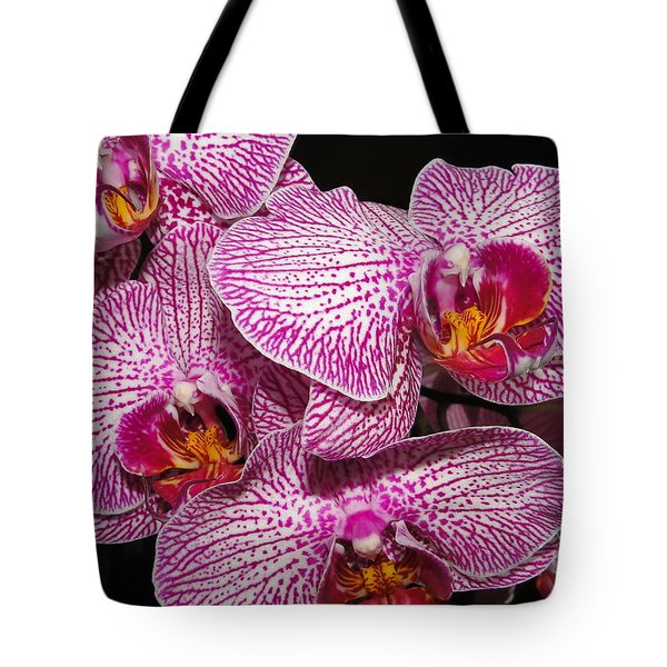 Singapore Orchid Tote Bag